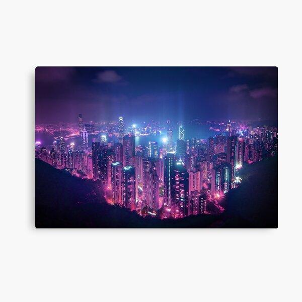 Hong Kong Neo Future Canvas Print
