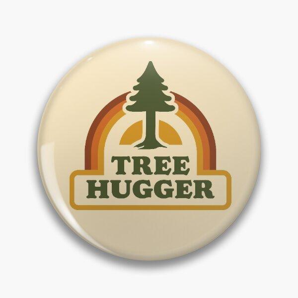 Hugger arbre rétro Badge
