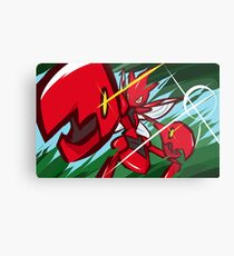 Scizor | Bug Bite Metal Print
