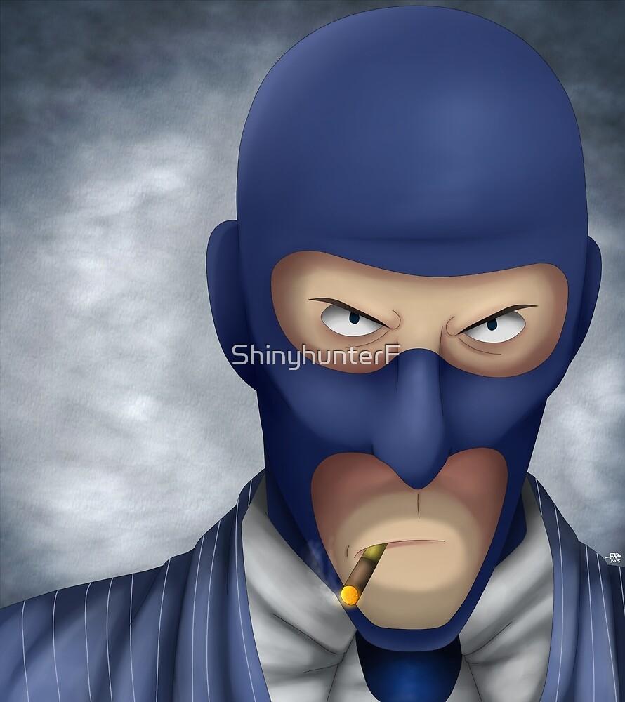 The Blu Spy by ShinyhunterF