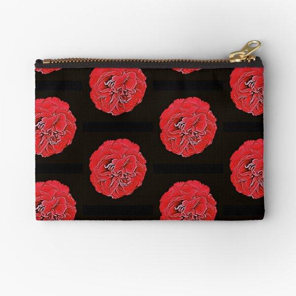 Red Rose Zipper Pouch