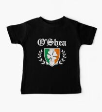 O'Shea Family Shamrock Crest (vintage distressed) Kids Clothes