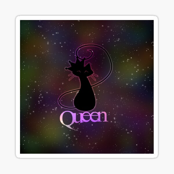Purrlicious Queen Sticker