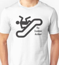 Escalator Accident Unisex T-Shirt