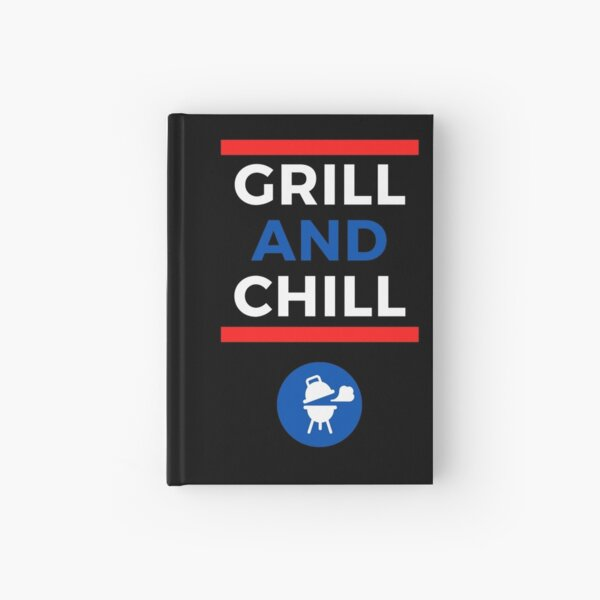 Holiday Grill and Chill Hardcover Journal