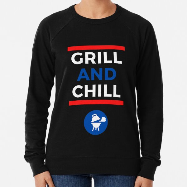 Holiday Grill and Chill Lightweight Sweatshirt
