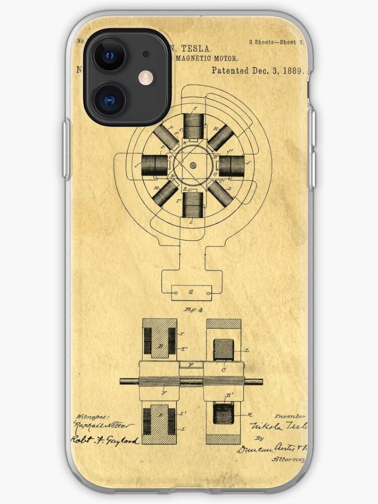 tesla motors 3 iphone case