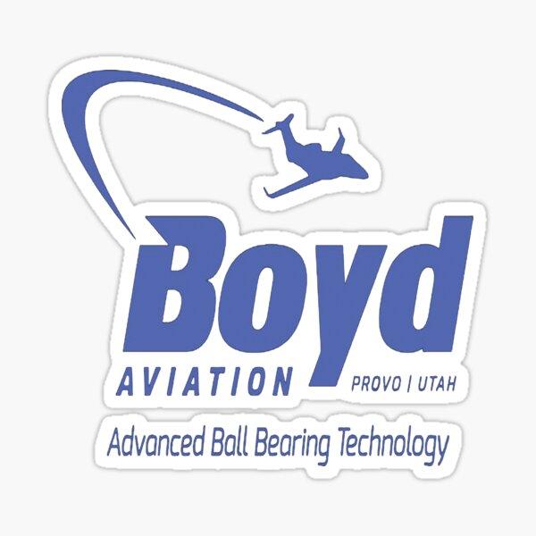 Boyd Aviation Fletch  Sticker