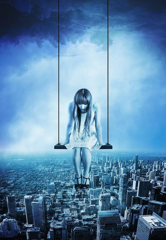 Swinging girl by soid