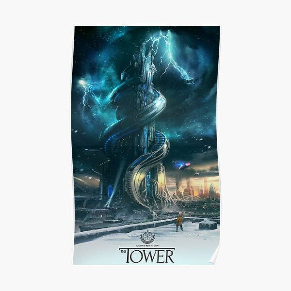 Consortium The Tower Poster