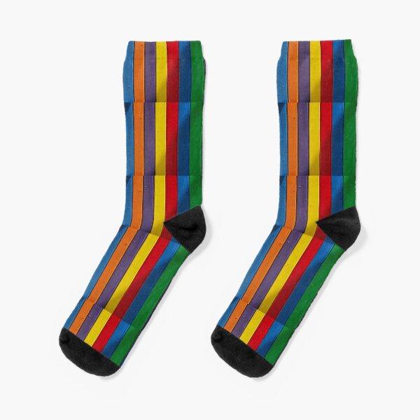 Rainbow, Rainbow mask, Rainbow socks  Socks
