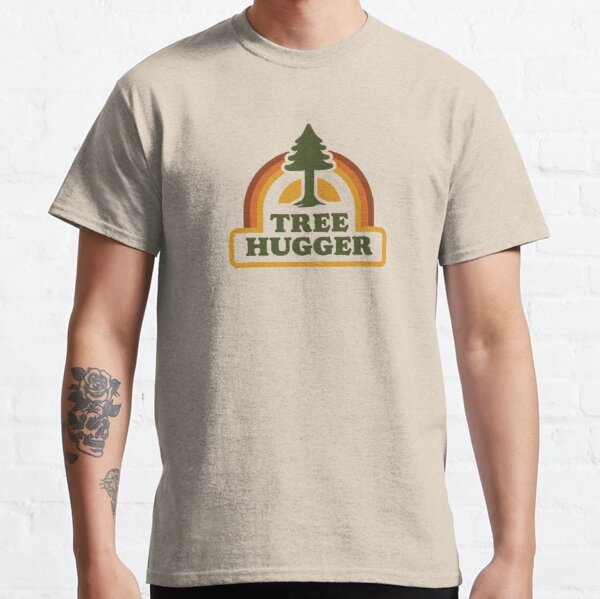 Retro Tree Hugger Classic T-Shirt