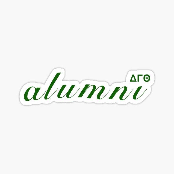 delta alum Sticker