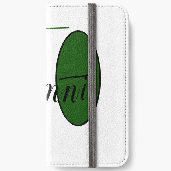 Delta Alum iPhone Wallet
