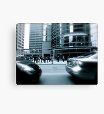 Bumper to Bumper Canvas Print