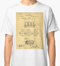 Home Canning Jar Patent 1898 Classic T-Shirt