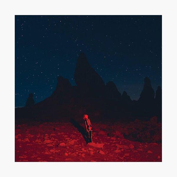 Night Bridgers Land Star Photographic Print