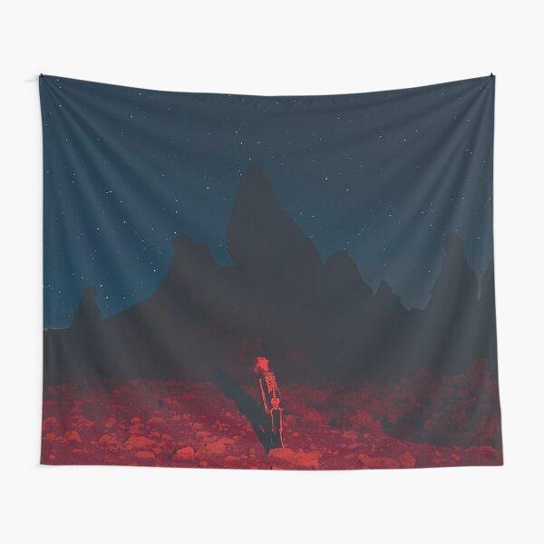 Night Bridgers Land Star Tapestry