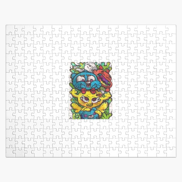LOVE❤️? Gumball-cartooon network ART? Jigsaw Puzzle
