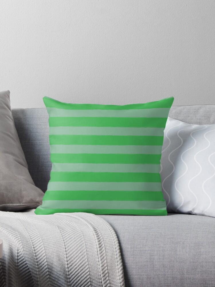 Green Stripe Pattern by rivermill
