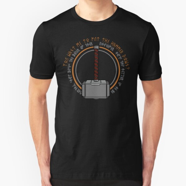 Hammer it home Slim Fit T-Shirt