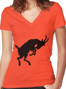 Sheep - Year of the Sheep 2015 Women's Fitted V-Neck T-Shirt