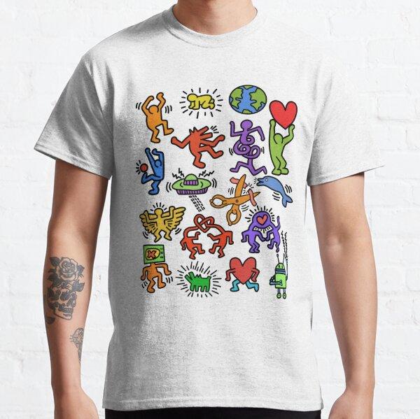 Haring Symbols Classic T-Shirt