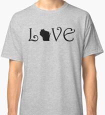 WISCONSIN LOVE Classic T-Shirt