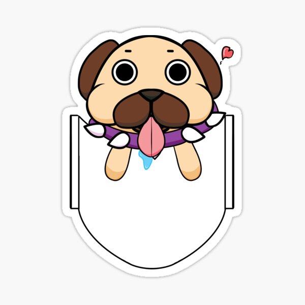 Pocket Puggy Sticker