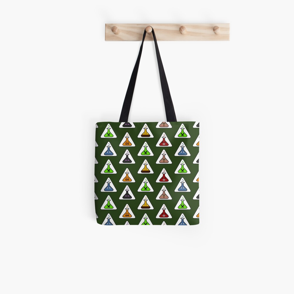 Creeper's Lab - All the beakers Tote Bag