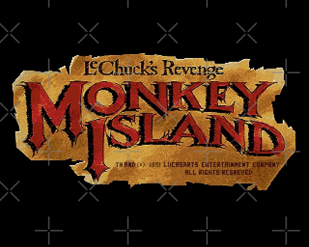 Monkey Island 2 logo by themasrix