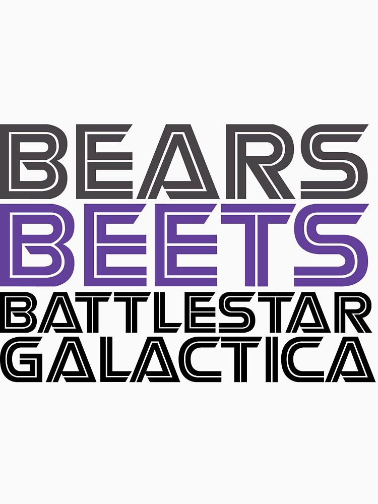 Bears, Beets, Battlestar Galactica. | Unisex T-Shirt
