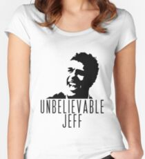 Unbelievable Jeff - Chris Kamara Women's Fitted Scoop T-Shirt