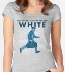 The secret life of Walter White Women's Fitted Scoop T-Shirt