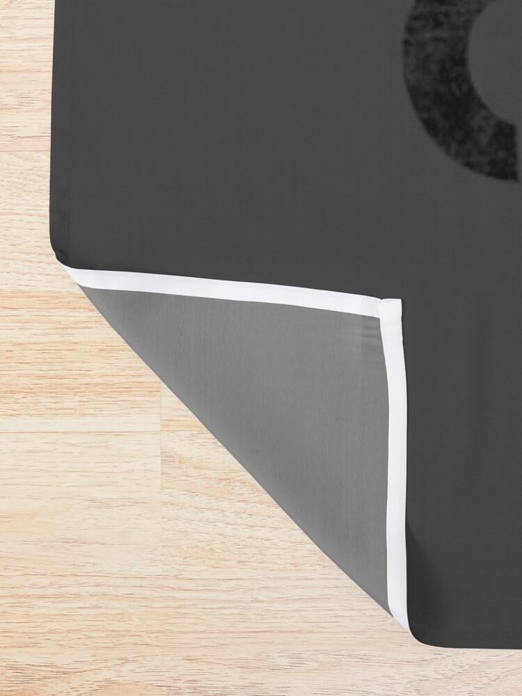 Alternate view of Hazardous Content Shower Curtain