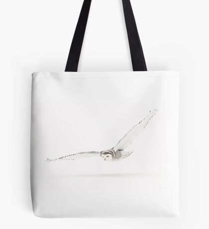 Shadow - Snowy Owl Tote Bag