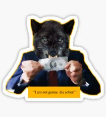 'The Wolf Of Wall Street' Tribute Sticker