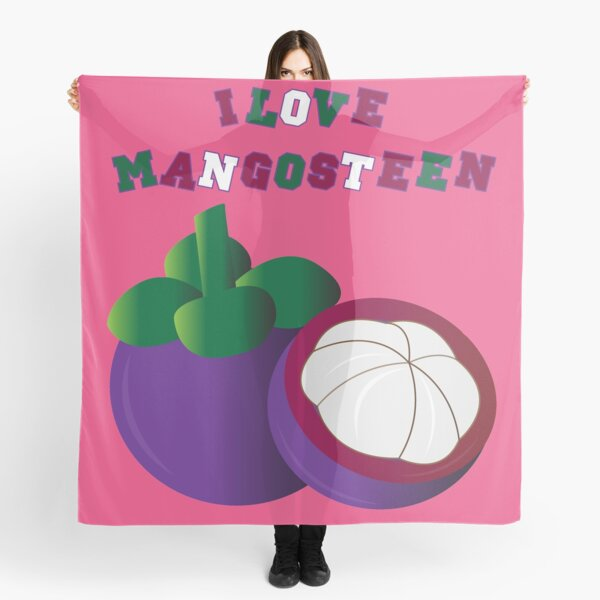 I LOVE MANGOSTEEN - THE BEAUTIFUL THAI FRUIT FOR #SEPTCHO2020 Scarf