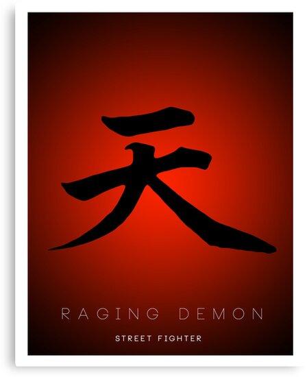 Raging Demon Minima by Stevie B
