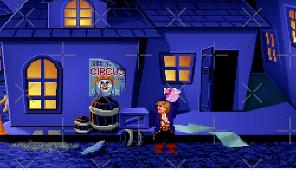 Guybrush and the voodoo (Monkey Island 2) by themasrix