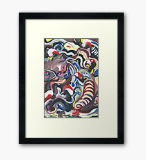 Things that Go Squiggle in the Night Framed Print