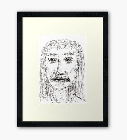 The Realisation Framed Print