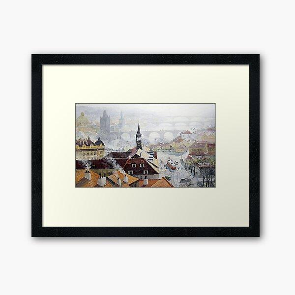 Praha Early Spring Framed Art Print