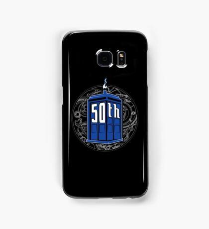 Happy 50th Tardis Samsung Galaxy Case/Skin