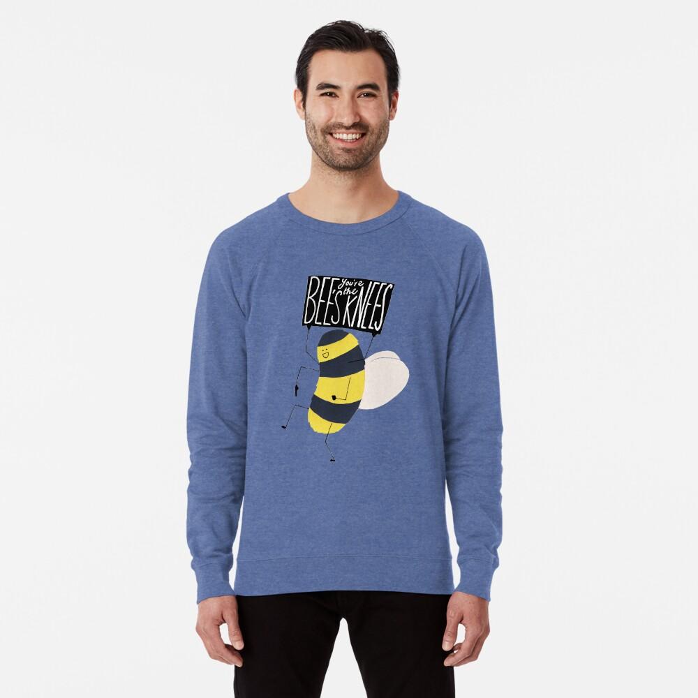 Biene Knie Leichtes Sweatshirt