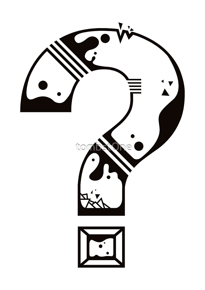 Question Mark by tombst0ne