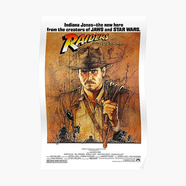 Raiders of the Lost Ark (1981) - Fortschritt Poster