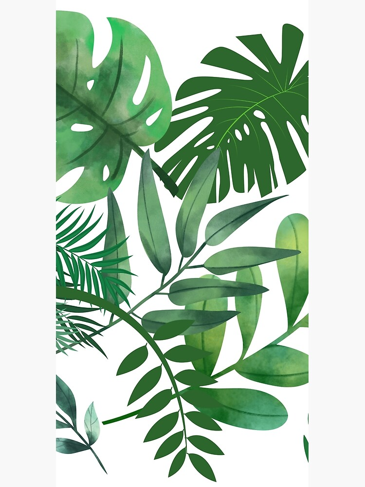 Shades of Green Leafy World by lifelifestyle