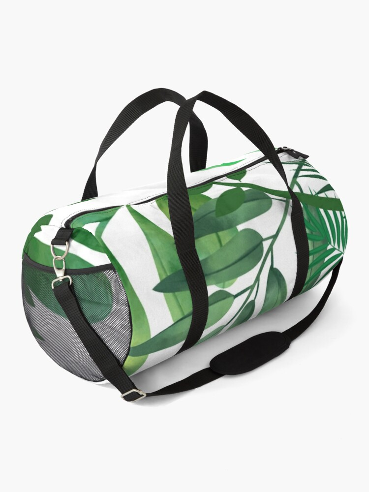 Alternate view of Shades of Green Leafy World Duffle Bag