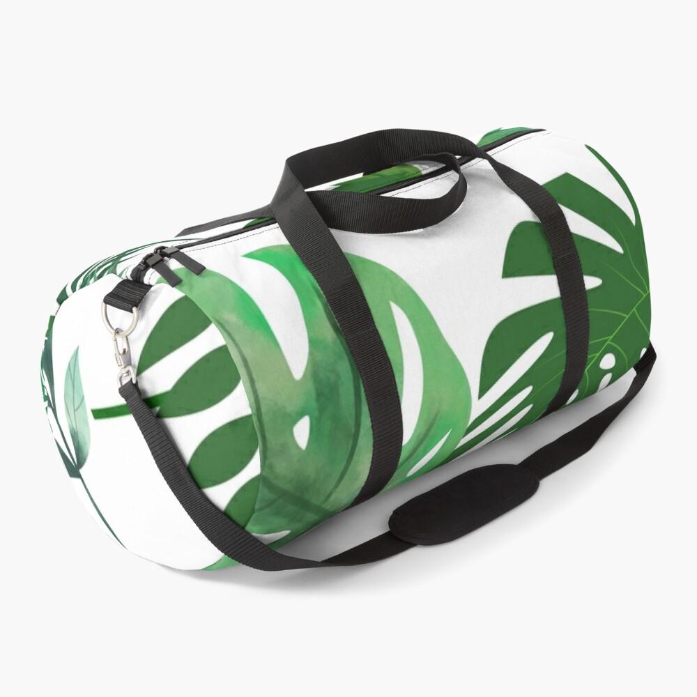 Shades of Green Leafy World Duffle Bag